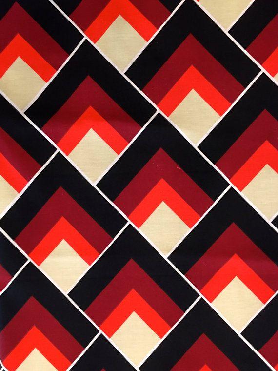 Groovy 70's Scandinavian Geometric Op Art Design by KimberlyZ
