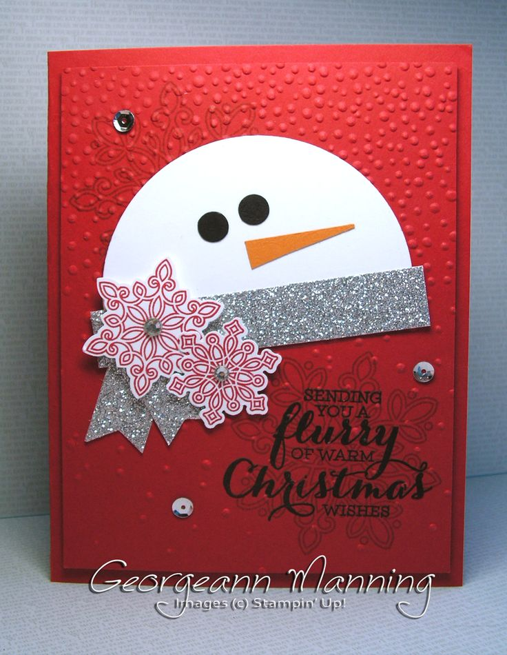 Card Making Ideas Christmas Stampin Up Part - 16: Handmade Cards · Stampinu0027 Everything!: Flurry Of Wishes... Christmas  IdeasChristmas ...