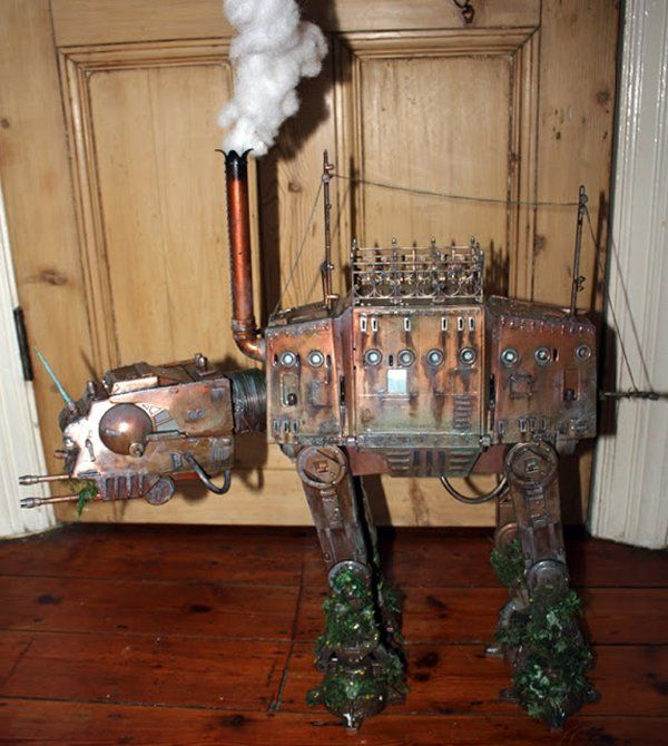 Steampunk AT-AT Walker: The Ultimate Engagement Gift