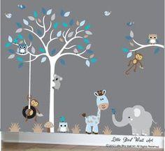 Kinderzimmer baby wände junge  Die besten 25+ Wandschablonen kinderzimmer Ideen auf Pinterest ...
