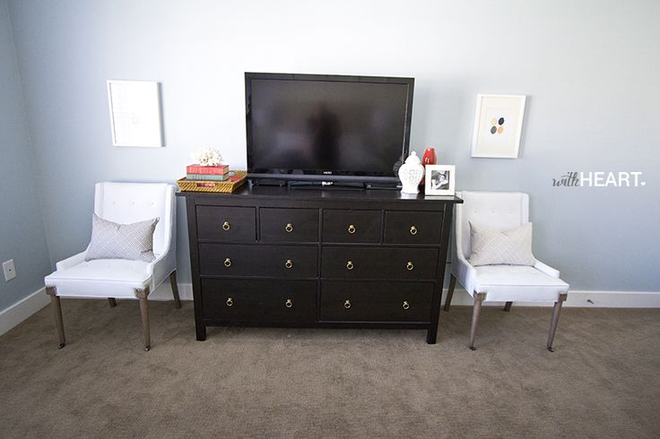 Hemnes Dresser As Tv Stand : Living Room ?Hemnes dresser as tv stand