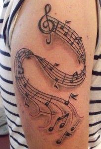 music scale tattoo - Google Search