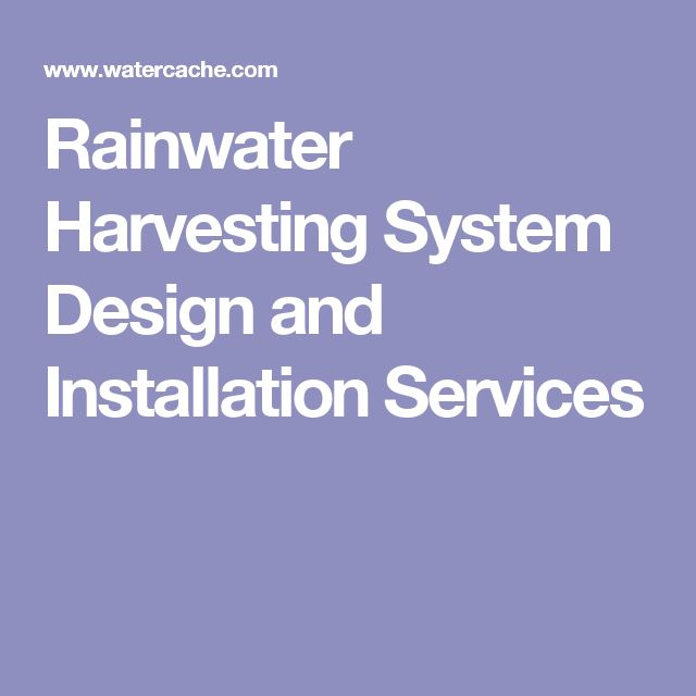 1000 Ideas About Rainwater Harvesting On Pinterest
