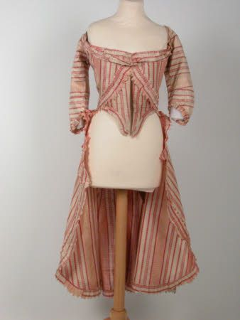 Polonaise jacket, 1775. Killerton Fashion Collection © National Trust / Sophia Farley and Renée Harvey