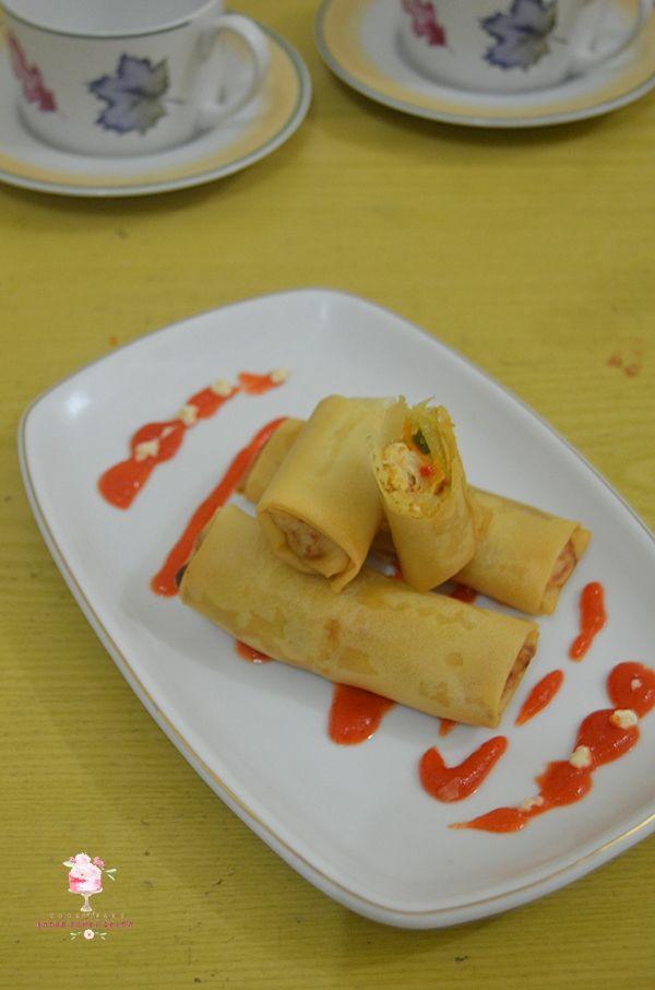 Dapur Comel Selma: Red Velvet Roll Cake dan Lumpia