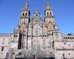 The cathedral in Santiago de Compostela, Spain.  Attended mass there on Easter Sunday 2012. Beautiful cathedral!