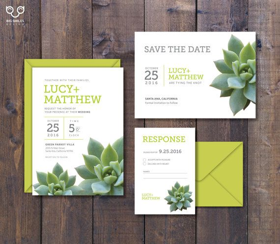 Digital printable diy wedding invitation template set for Electronic save the date templates