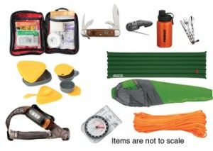 New Scout Camping Kit