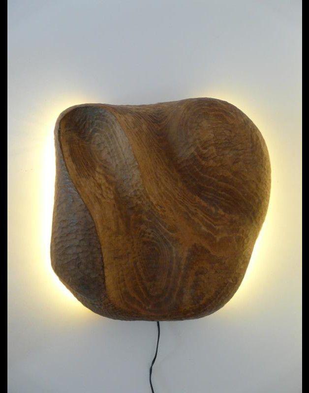 Unique LEDs dekorative Holzwandleuchte mit indirekter Beleuchtung