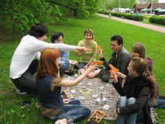 Источник: www.tverigrad.ruВ Городском саду на «Газоне молодежи» состоится открытие площадки «Настольные игры в NATURE».