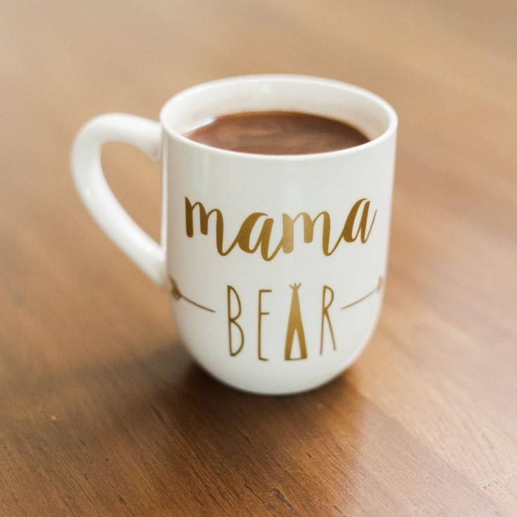 Gold Mama Bear Mug Want Pinterest Bears Cricut