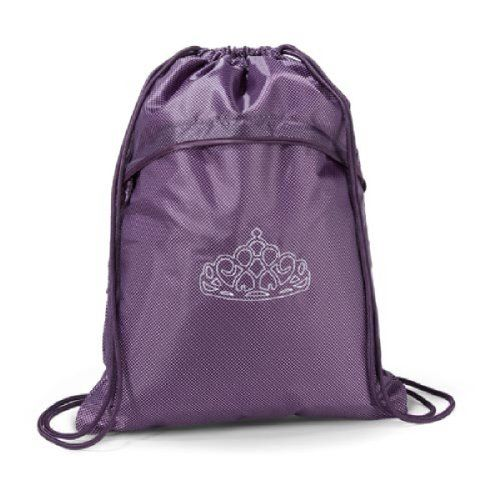 Thirty One Cinch Sac in Plum Gingham Pop  Dream Big Monogram *** Want to know more, click on the image.