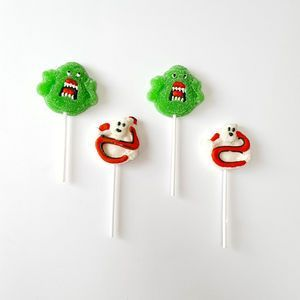 Set Of Four Scary Gummy Pops | From trick or treating and pumpkin carving, to watching scary movies and having a party, there's so much you can enjoy on the spookiest night of the year. Time to get Halloween-ready with tasty treats.