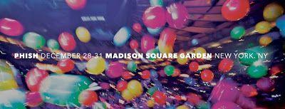 Phish 2013 New Year's Eve  Madison Square Garden New York, NY