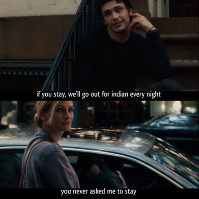 You never asked me to stay...