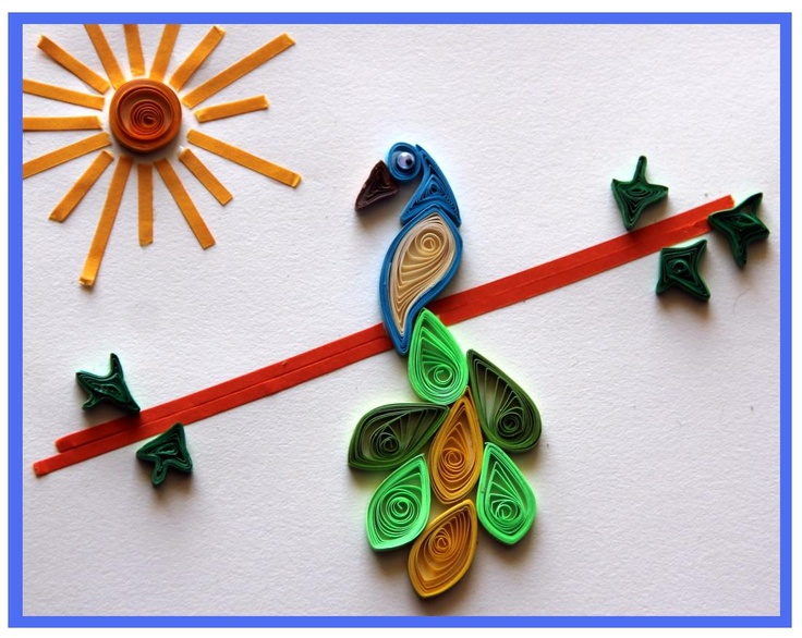 Foyer Wallpaper Quilling : Best quilling with kids images on pinterest paper