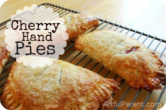 Cherry Hand Pies | Recipe | Cherry Hand Pies, Hand pies and Cherries
