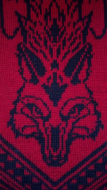 Ravelry: Winged Wolf pattern by Tania Richter