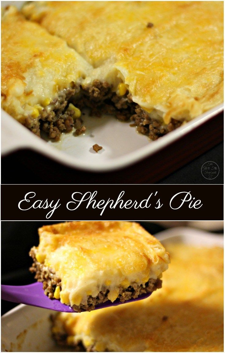 Best 20+ Easy shepherds pie ideas on Pinterest | Easy ...