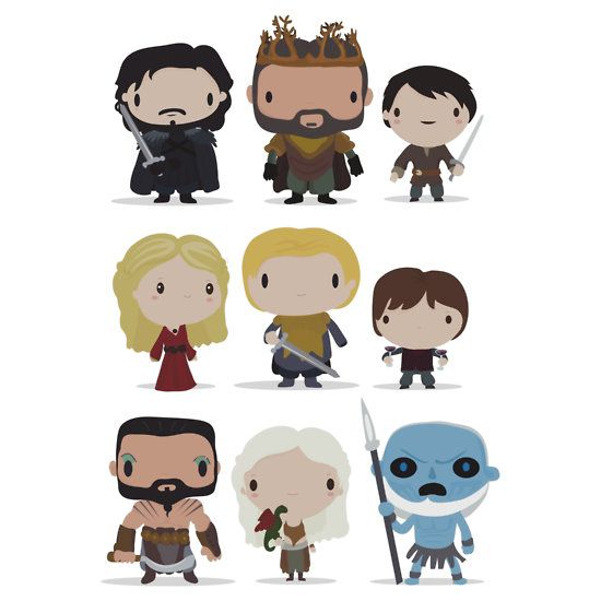 These Chibi Lord Of The Rings And Game Of Thrones T-Shirts Are Adorable