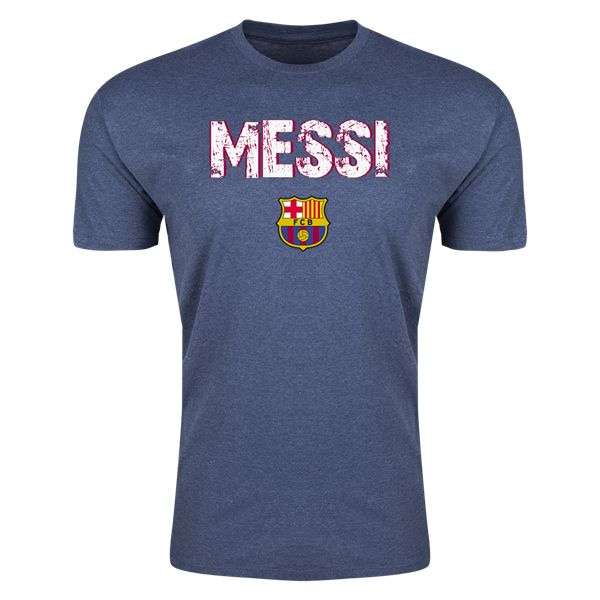 Barcelona Messi Mens Fashion T-Shirt