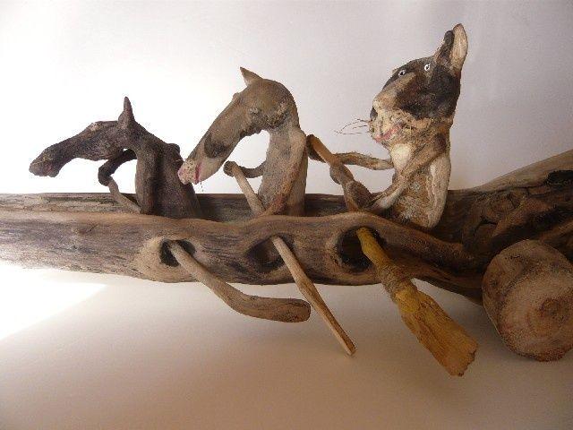 Les 151 meilleures images du tableau bois flott sur for Acheter du bois flotte