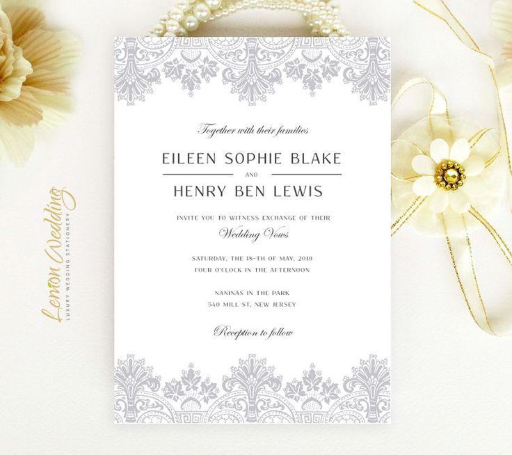 24 best invitation images on Pinterest | Beautiful wedding ...