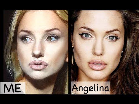 Makeup tutorial attrici : Angelina Jolie - VideoTrucco