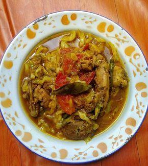 Resep Tongseng Ayam Bikin Ketagihan - Makan siang hari ini pake tongseng ayam.