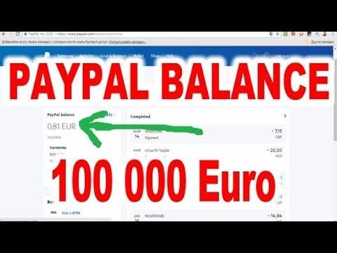 Free Paypal Money Adder 2018 Paypal Hack Get 500$ Per Day