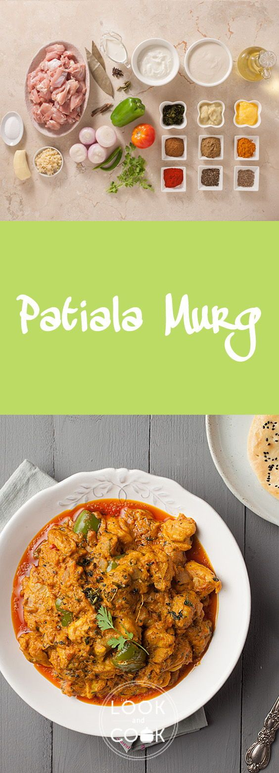 Patiala Murg Recipe (LC14307) - This chicken curry stems from Patiala. It is mildly spiced with exotic Indian spices and has a rich texture from the cashewnut paste.