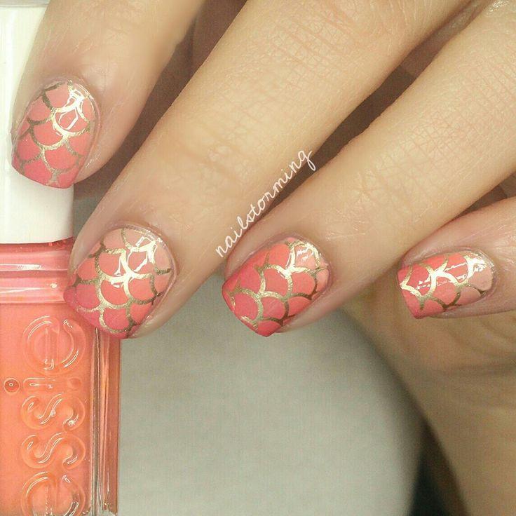 57 best Mermaid Nail Art Ideas images on Pinterest | Mermaid nail ...