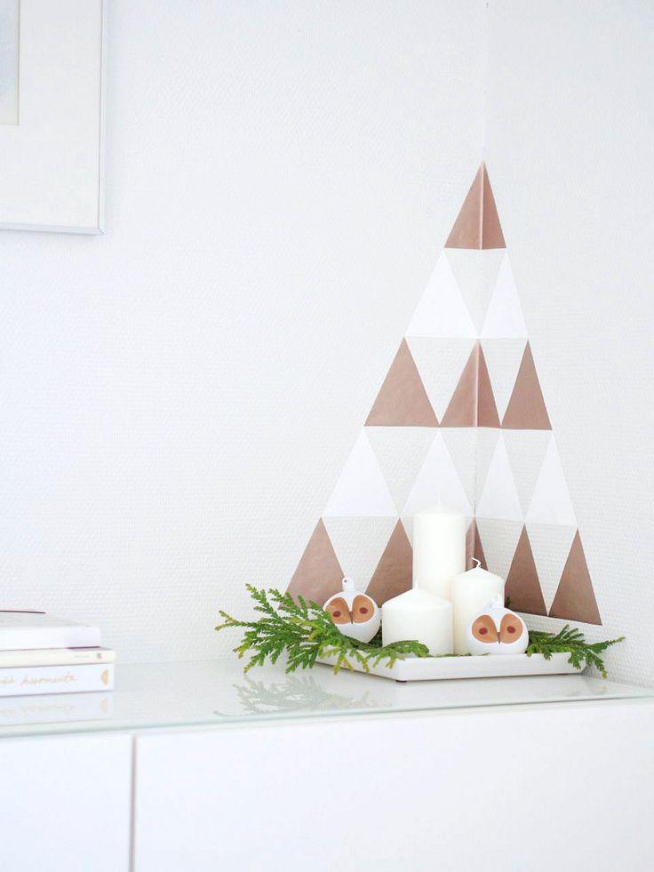 DIY Christmas tree STIPLU.: Joulupuu on rakennettu...
