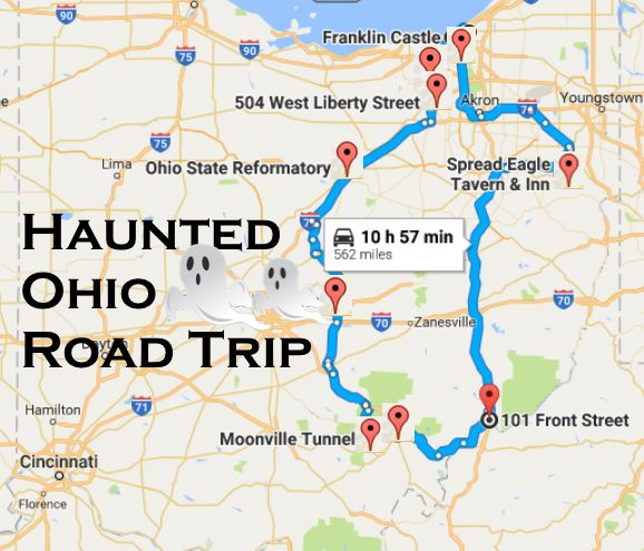 Take A Haunted Road Trip To Visit Some Of The Spookiest Places In Ohio Haunted Hotel Ohio Travel Road Trip