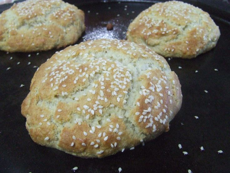 Paleo hamburger buns, found at Cassidys Cravable Creations. I'll be giving these a try! www.GlutenFreeRV.com
