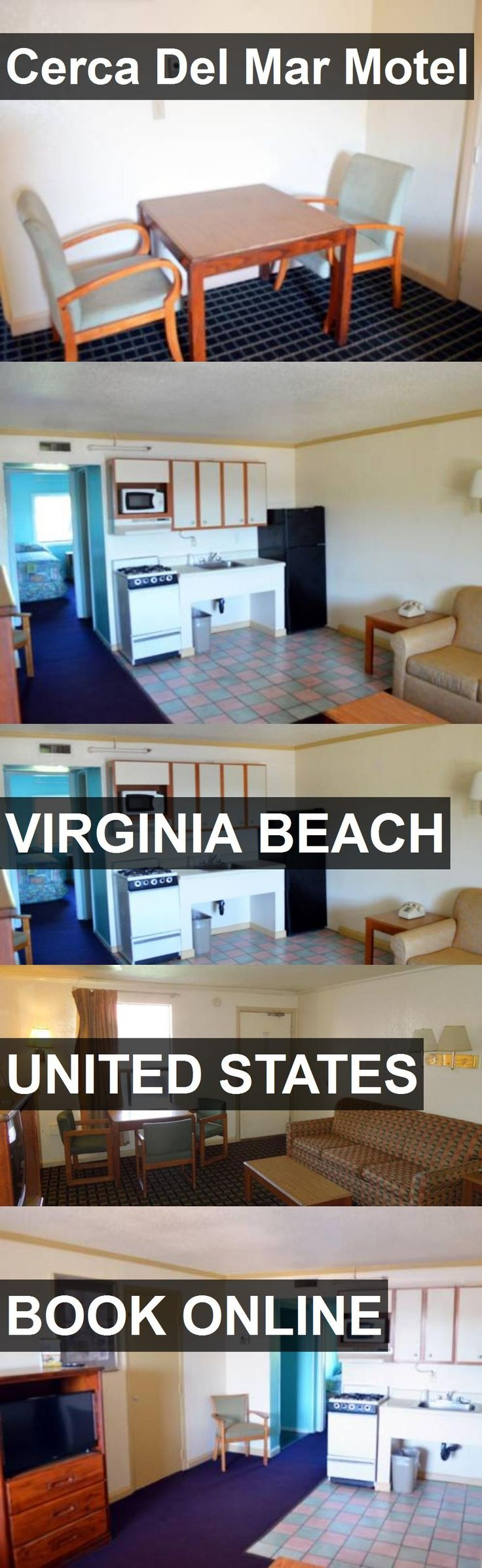 Hotel Cerca Del Mar Motel in Virginia Beach, United States. For more information, photos, reviews and best prices please follow the link. #UnitedStates #VirginiaBeach #travel #vacation #hotel