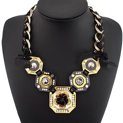 Chunky Necklace Fashion Accessories CE1716