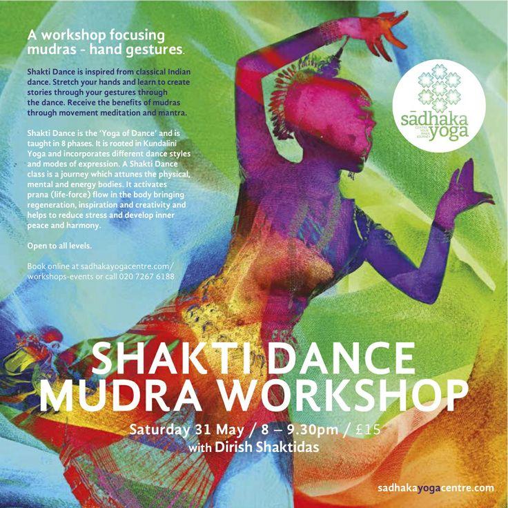 Shakti Dance #mudras