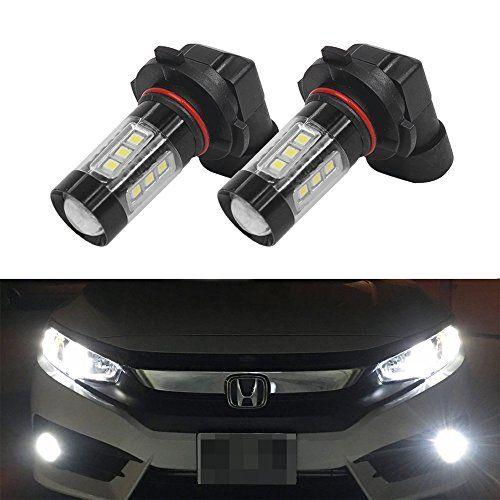 Mesllin HB4 9006 80 Watt LED Tagfahrlicht Nebelscheinwerfer Super Helle Weiß Ersatz mit Projektor, DRL Lampen #Mesllin #Watt #Tagfahrlicht #Nebelscheinwerfer #Super #Helle #Weiß #Ersatz #Projektor, #Lampen