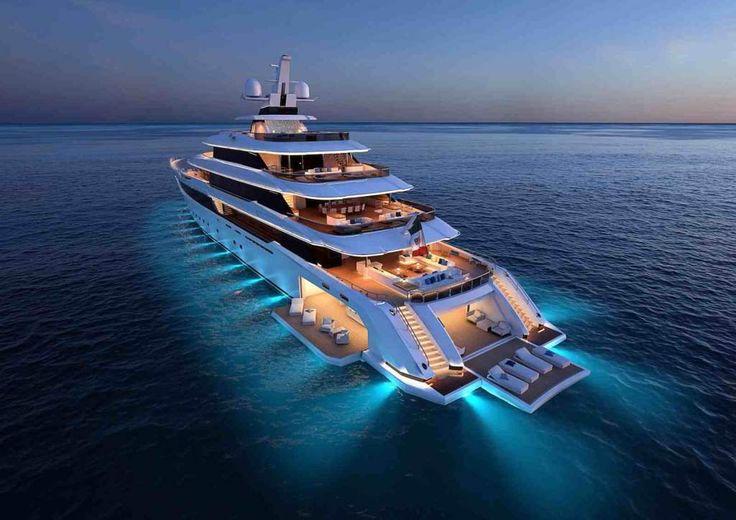 Columbus Yacht apresenta seu novo mega iate de 80 metros | WEB LUXO