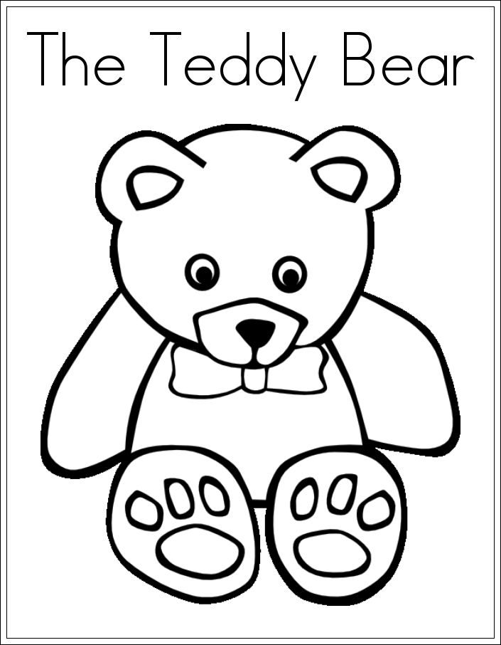 17 Best images about bear on Pinterest | Coloring, Free printable ...