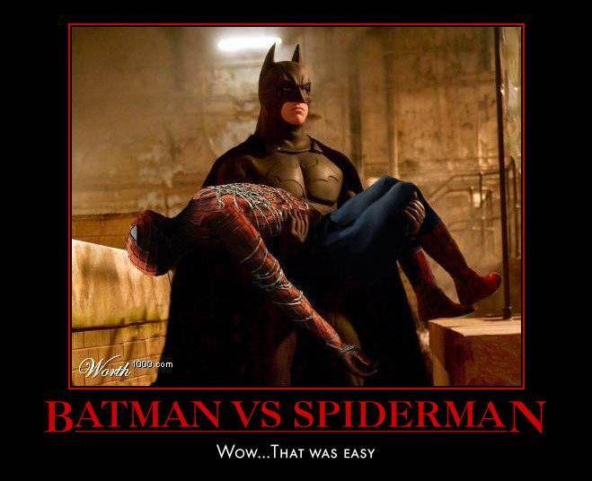 Batman Vs Spiderman | Batman | Pinterest | Spiderman ...