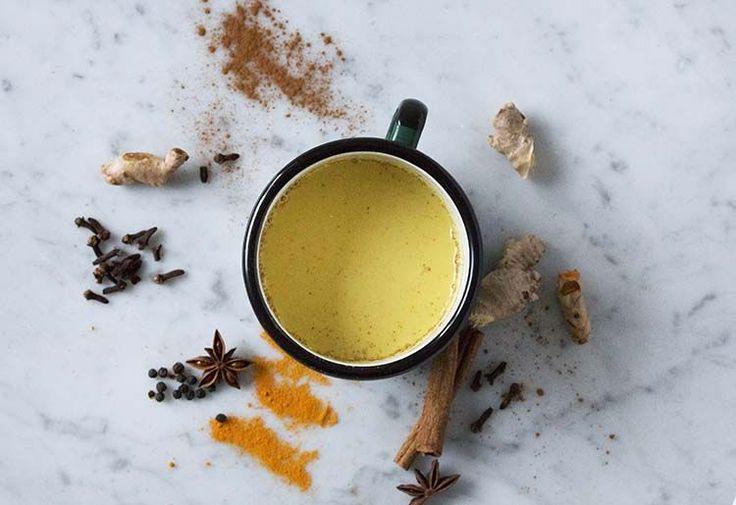 Gouden Kurkuma Melk en Kurkuma Latte