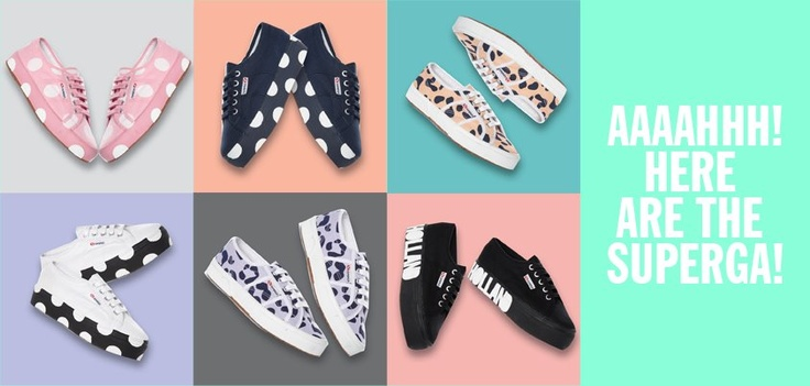The complete House of Holland x Superga Collection