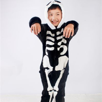 Kids Skeleton Onesie