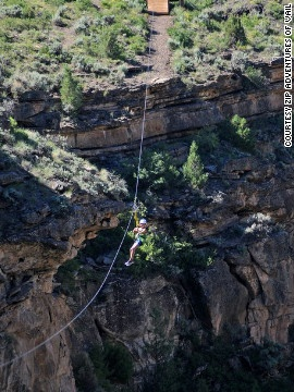 Get your Rocky Mountain highs along the Zip Adventures zip lining tour in Vail, Colorado.