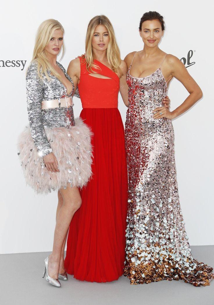 De beste rode loper looks van het amfAR Gala in Cannes