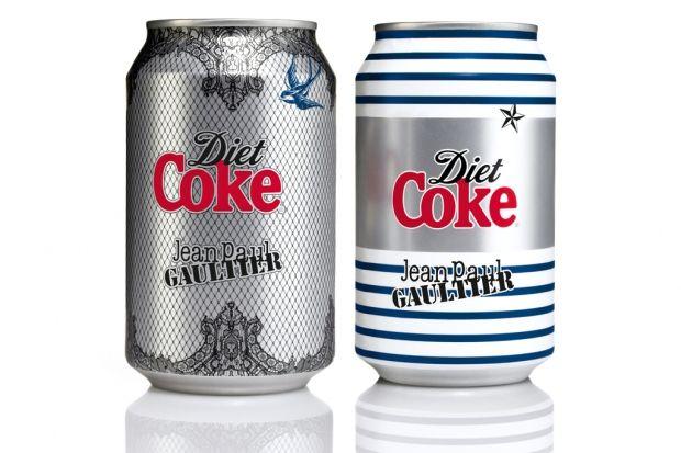 Diet Coke by Jean Paul Gaultier Night & Day Cans   Hypebeast