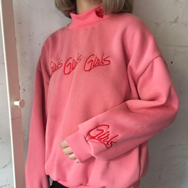 ファッション女性スウェット秋冬2017韓国スタイル新しいプルオーバーかわいいピンクブルー刺繍レターハートかわいいスウェットシャツ