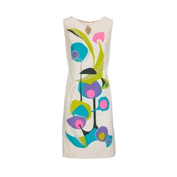 Geometric dress, 1960s ($218) ❤ liked on Polyvore featuring dresses, geometric... 7